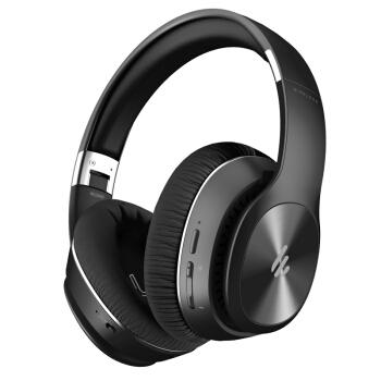 漫步者(EDIFIER)W828NB 头戴式蓝牙降噪耳机 音乐耳机 手机耳机  黑色