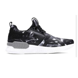 ANTA 安踏 12638890-4 男士椰子鞋 黑/深雾灰/冷白 37.5