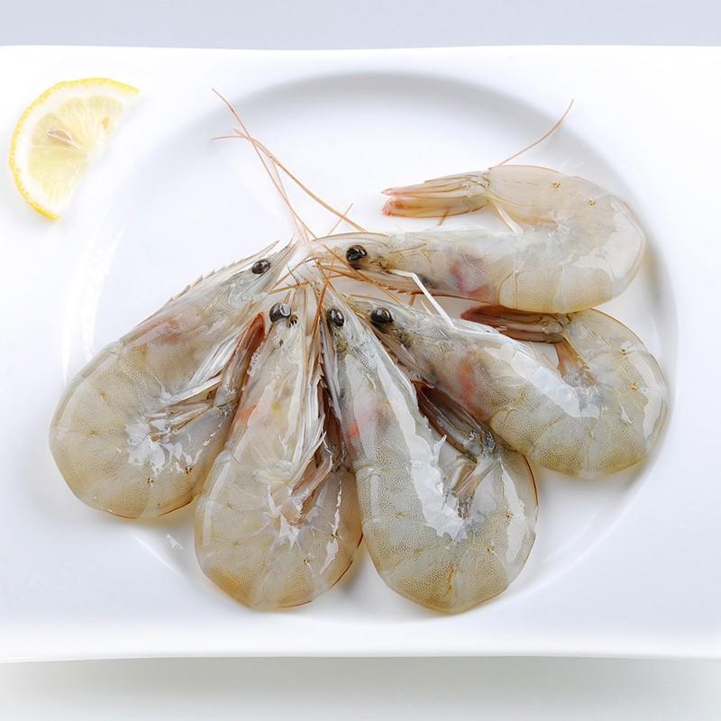 国联(GUO LIAN) 冷冻厄瓜多尔白虾 400g 20-24只 盒装