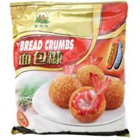 金利华 面包糠 白糠 1000g 面包屑 炸鸡裹粉 *3件