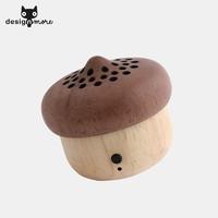 设计猫 KIKKERLAND  木橡子 迷你蓝牙音箱