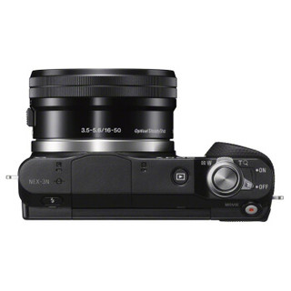 SONY 索尼 NEX-3NL 微单单镜套机(E PZ 16-50mm F3.5-5.6 OSS)黑色