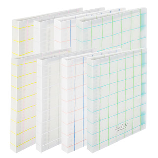 KOKUYO 国誉 WSG-RULP11 格子印象活页本 A5 蓝绿格线