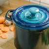 网易考拉全球工厂店 家用幻彩陶瓷砂锅 (蓝色、3.5L)