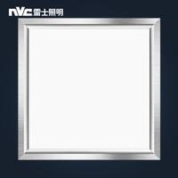nvc-lighting 雷士照明 雾银 集成吊顶灯 瓦白光 16w