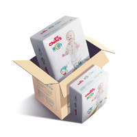 Chiaus 雀氏 薄+C引力 干爽透气通用纸尿裤 XL72片 (12-17kg)