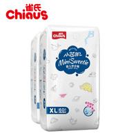 Chiaus 雀氏 雀氏小芯肌拉拉裤XL60*2包 (12-17kg)
