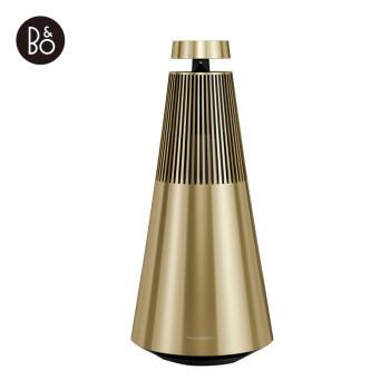 B&O PLAY 铂傲  BeoSound 2 2.1 桌面蓝牙音箱 黄铜色