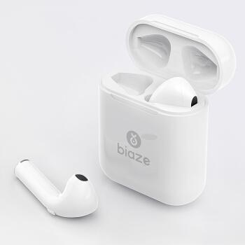 Biaze 毕亚兹 D35 无线蓝牙耳机 (通用、圈铁结合、耳塞式、白色)