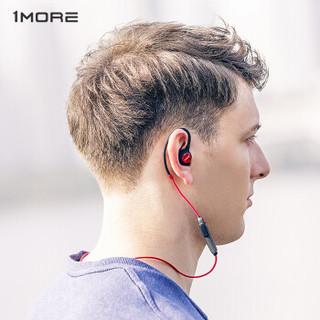 1more 万魔 E1013BT 无线蓝牙耳机 (通用、圈铁结合、耳挂式、红色)