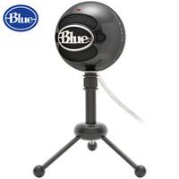 Blue Snowball 雪球USB电容麦克风 三种拾音模式 亮黑色