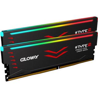 GLOWAY 光威 TYPE-β系列 台式机内存 (8GB×2、3000频率、RGB)