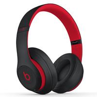 Beats studio3 无线蓝牙耳机 (iOS、动圈、头戴式、 桀骜黑红)
