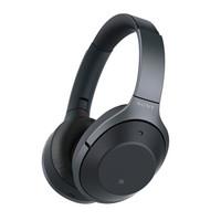 SONY 索尼 WH-1000XM2 头戴式无线蓝牙降噪耳机 黑色