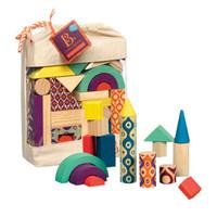 B.Toys 比乐 BX1361Z 积木套装40件 带收纳袋 *2件