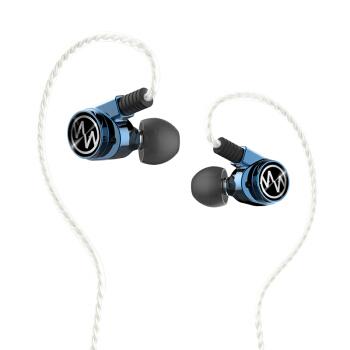 MacaW GT600sPro 耳机 (通用、圈铁结合、入耳式、冰蓝)