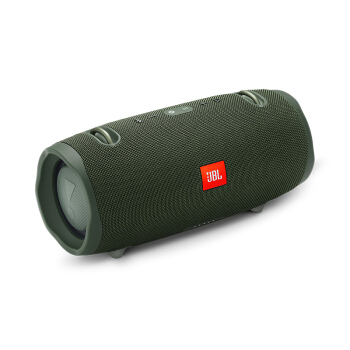 JBL Xtreme2 音乐战鼓二代 蓝牙户外便携音箱音响 低音炮 防水设计 可免提通话 绿色