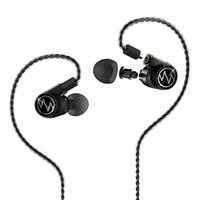 MacaW GT600s 耳机 (通用、圈铁结合、入耳式、玄武黑)