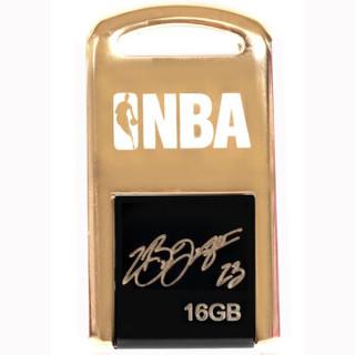 NBA 战舰系列 NU-018 U盘 16GB 詹姆斯签名限量版 金色