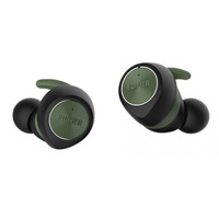 EDIFIER 漫步者 TWS3 无线蓝牙耳机 (通用、入耳式、黑绿色)