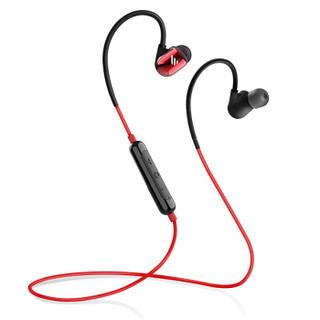 漫步者(EDIFIER)W295BT+ 入耳式运动蓝牙耳机 无线耳机 手机耳机 防水防汗 续航持久 钛红色