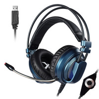 xiberia 西伯利亚 v10 耳机 (通用、动圈、头戴式、32Ω、蓝色)