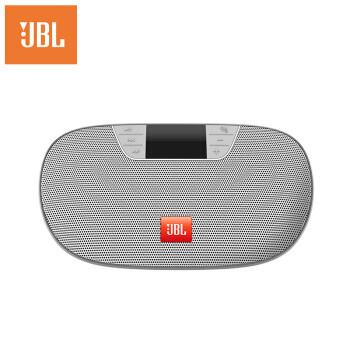 JBL TUNE2 SIL 无线蓝牙音箱 便携式插卡音响 器 FM收音机 可连U盘TF卡 银色