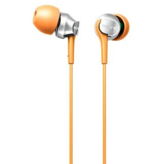 SONY 索尼 MDR-EX100LP 入耳式耳机 橙色
