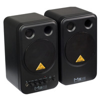 behringer 百灵达 MS16 多媒体音箱 (2.0、黑色)