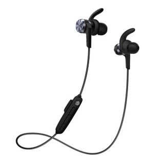 1more 万魔 E1018plus 无线蓝牙耳机 (通用、动圈、后挂式、黑色)