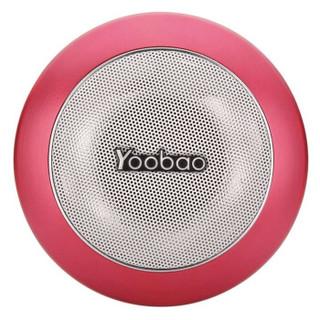 Yoobao 羽博 YBL201 便携蓝牙音箱 红色