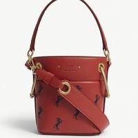 Chloé Roy mini leather bucket bag 女士水桶包