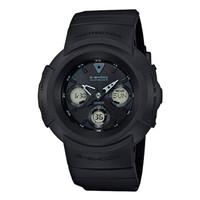 CASIO 卡西欧 G-SHOCK系列 AWG-M510SBB-1A 太阳能动力电波男士手表 黑色