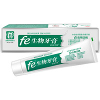 fe金典牙医生物酶干刷牙膏220g 酶指数9.8 劲爽茶香 *3件