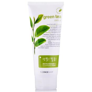 THE FACE SHOP 菲诗小铺 绿茶植物泡沫洁面膏 170g