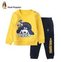 Hush Puppies 暇步士 男小童套头衫裤子套装 *2件