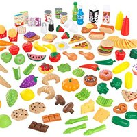 KidKraft Tasty Treats Play Food Set过家家食物模型