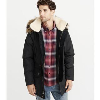 双11预售 : Abercrombie&Fitch 215016-1 AF 精品派克大衣