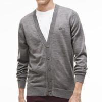 LACOSTE 拉科斯特 AH2996 男士羊毛开衫