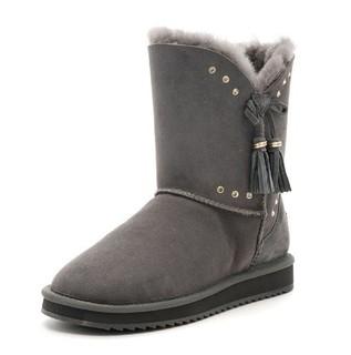 SAFIYA 索菲娅 SF6411A020 流苏雪地靴