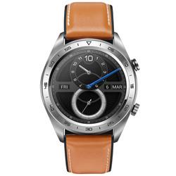 HONOR 荣耀 Watch Magic 智能手表 皮质表带 月光银