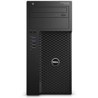 戴尔 T3620塔式工作站 (i3-6100/4G*2/256G固态/DVDRW/NVS315-1G独显/键鼠)三年上门服务