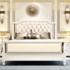 进畅家具 美式轻奢实木双人床 1.8*2米 2699元