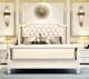 进畅家具 美式轻奢实木双人床 1.8*2米