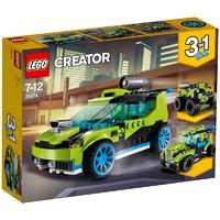 LEGO 乐高 Creator 创意百变组 31074 火箭拉力赛车