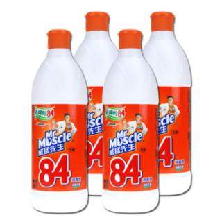 Mr Muscle 威猛先生 84消毒液 500ml*4瓶
