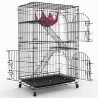 英伦印象 CAT-780 宠物猫笼 三层豪华型 黑色