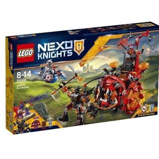 LEGO 乐高 Nexo骑士系列 70316 小丑的巨轮炎魔碉堡