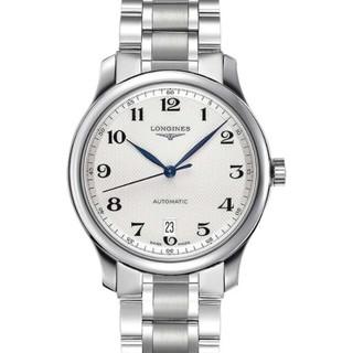 历史低价 : LONGINES 浪琴 Master 名匠系列 L2.628.4.78.6 男士机械腕表
