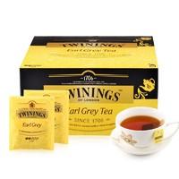 88VIP:TWININGS 川宁 伯爵红茶 2g*50片